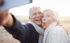 Older couple were thrilled to have their bite function and appearance restored thanks to dental implants surgically implanted by a Brentwood, TN dentist.